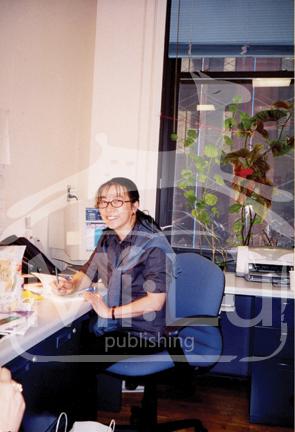 Li Jü ve své kanceláři na NYU počátkem 21. století