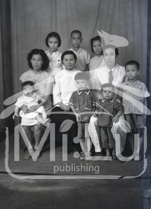 Lü Che-žuo s rodinou